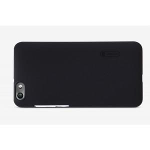 Пластиковый матовый нескользящий премиум чехол для Huawei Honor 4C Черный