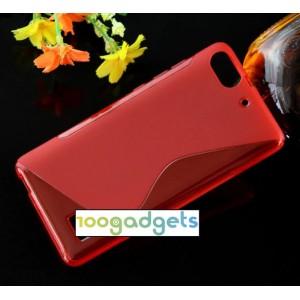 Силиконовый S чехол для Huawei Honor 4C Красный