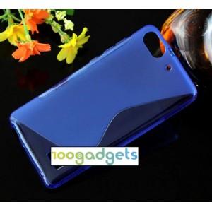 Силиконовый S чехол для Huawei Honor 4C Синий