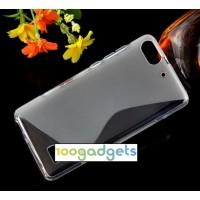 Силиконовый S чехол для Huawei Honor 4C Серый