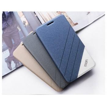 Текстурный дизайнерский чехол флип подставка на силиконовой основе для Huawei Honor 4C