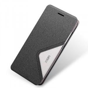 Текстурный дизайнерский чехол флип подставка на пластиковой основе для Huawei Honor 4C Черный