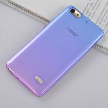 Силиконовый градиентный полупрозрачный чехол для Huawei Honor 4C
