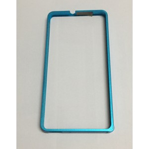 Металлический бампер для Huawei Honor 4C Голубой