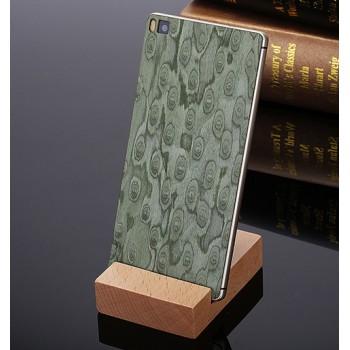 Клеевая натуральная деревянная накладка для Huawei P8 Lite