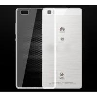 Пластиковый транспарентный чехол для Huawei P8 Lite