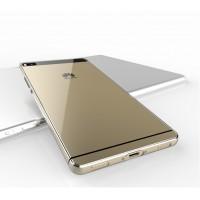 Силиконовый транспарентный чехол для Huawei P8 Lite