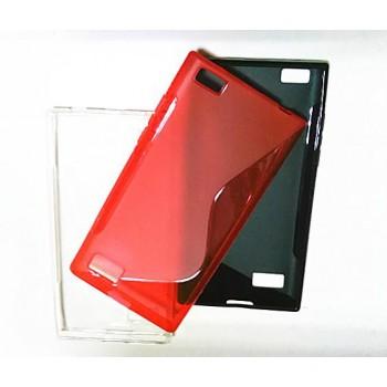 Силиконовый S чехол для Blackberry Leap