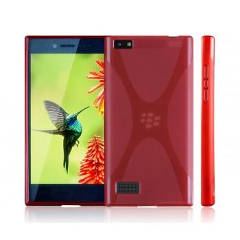 Силиконовый X чехол для Blackberry Leap