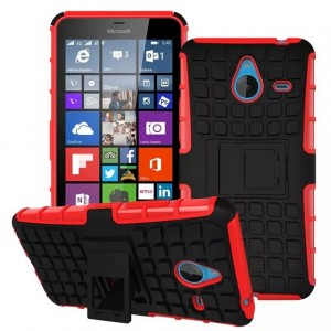 Силиконовый чехол экстрим защита для Microsoft Lumia 640 XL Красный