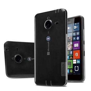Силиконовый матовый полупрозрачный чехол для Microsoft Lumia 640 XL