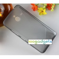 Силиконовый S чехол для Microsoft Lumia 640 XL Серый