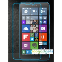 Ультратонкое износоустойчивое сколостойкое олеофобное защитное стекло-пленка Microsoft Lumia 640 XL