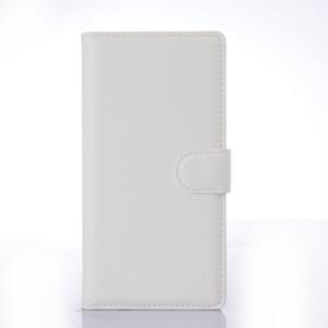 Чехол портмоне подставка с защелкой для Sony Xperia Z3+ Белый
