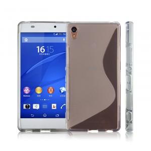 Силиконовый S чехол для Sony Xperia Z3+