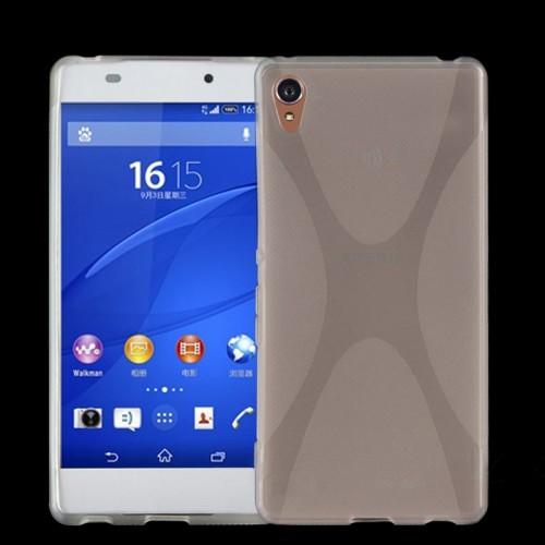 Силиконовый X чехол для Sony Xperia Z3+