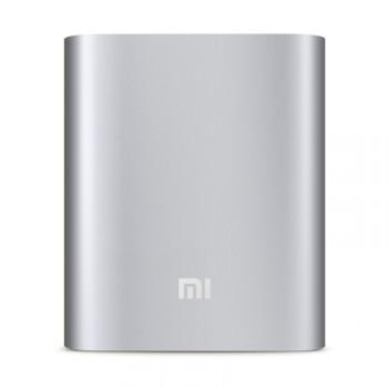 Оригинальное портативное зарядное устройство Xiaomi в матовом металлическом корпусе 10400 mAh