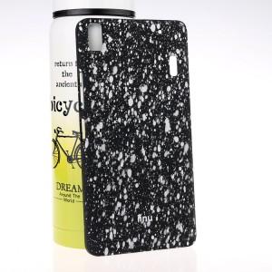 Пластиковый матовый дизайнерский чехол с голографическим принтом Звезды для Lenovo A7000