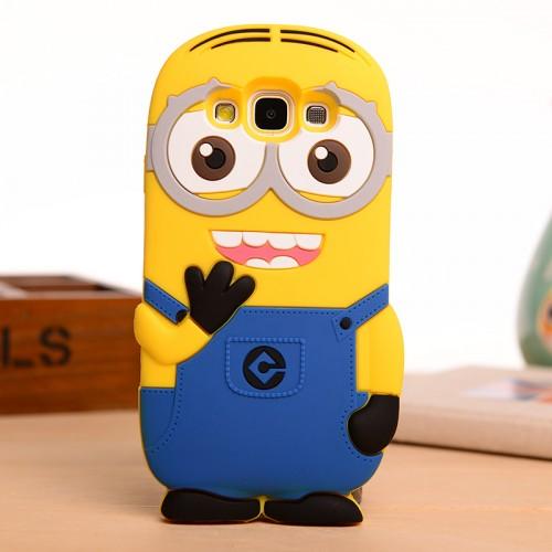 Силиконовый дизайнерский фигурный чехол для Samsung Galaxy E5