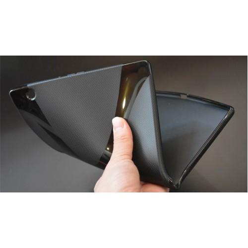 Силиконовый матовый X чехол для Sony Xperia Z4 Tablet Черный
