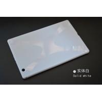 Силиконовый матовый X чехол для Sony Xperia Z4 Tablet Белый