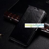Чехол портмоне подставка с защелкой для Samsung Galaxy E5 Черный
