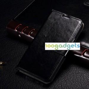 Чехол портмоне подставка с защелкой для Samsung Galaxy E5