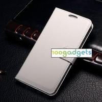 Чехол портмоне подставка с защелкой для Samsung Galaxy E5 Белый