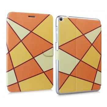Чехол подставка на поликарбонатной основе с магнитной защелкой и полноповерхностным принтом для Huawei MediaPad T1 8.0