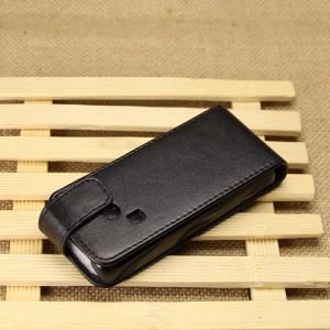 Чехол вертикальная книжка на пластиковой основе с магнитной застежкой для Nokia 220