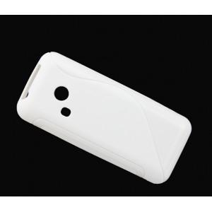 Силиконовый S чехол для Nokia 220 Белый