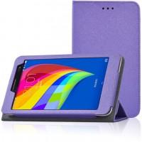 Чехол подставка с рамочной защитой для Huawei MediaPad T1 7.0/T2 7.0 Фиолетовый