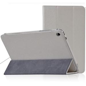 Сегментарный чехол подставка с рамочной защитой текстура Золото для Huawei MediaPad T1 8.0