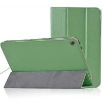 Сегментарный чехол подставка с рамочной защитой текстура Золото для Huawei MediaPad T1 8.0 Зеленый