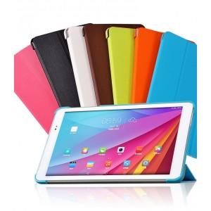 Полиуретановый чехол флип подставка сегментарный на пластиковой основе для Huawei MediaPad T1 10.0