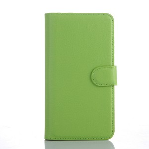 Чехол портмоне подставка с защелкой для Explay Fresh Зеленый