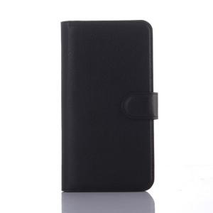Чехол портмоне подставка с защелкой для Explay Fresh Черный