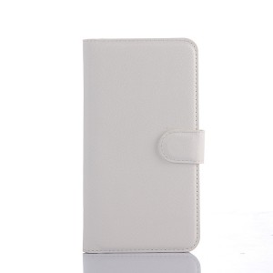 Чехол портмоне подставка с защелкой для Explay Fresh Белый