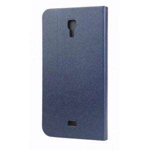 Чехол флип подставка с внутренним карманом и магнитной защелкой на силиконовой основе для Explay Vega