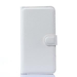 Чехол портмоне подставка с защелкой для Explay Blaze Белый