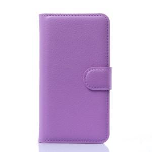 Чехол портмоне подставка с защелкой для Explay Craft Фиолетовый