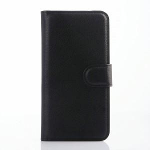 Чехол портмоне подставка с защелкой для Alcatel One Touch Idol 3 (4.7) Черный