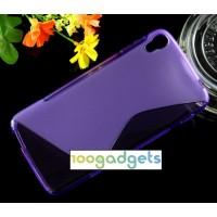 Силиконовый S чехол для Alcatel One Touch Idol 3 (4.7) Фиолетовый