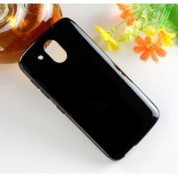 Силиконовый матовый чехол для HTC Desire 526 Черный