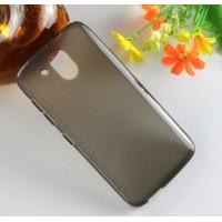 Силиконовый матовый чехол для HTC Desire 526 Серый