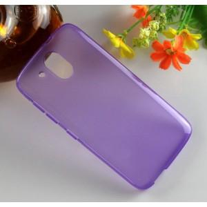 Силиконовый матовый чехол для HTC Desire 526 Фиолетовый