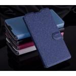 Текстурный чехол флип подставка на пластиковой основе с защелкой для LG G4c