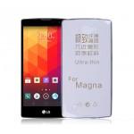Силиконовый транспарентный чехол для LG Magna