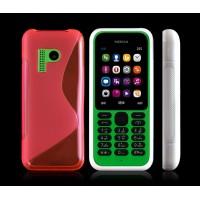 Силиконовый S чехол для Nokia 215