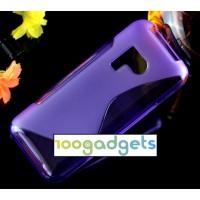 Силиконовый S чехол для Nokia 215 Фиолетовый
